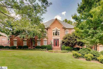 Greer Single Family Home For Sale: 1001 Thornblade