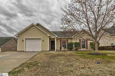 Easley Single Family Home Contingency Contract: 520 Cardinal Woods