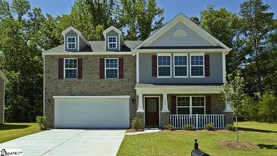 Simpsonville Single Family Home For Sale: 1124 Downing Bluff