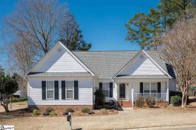 Simpsonville Single Family Home Contingency Contract: 8 East Loden