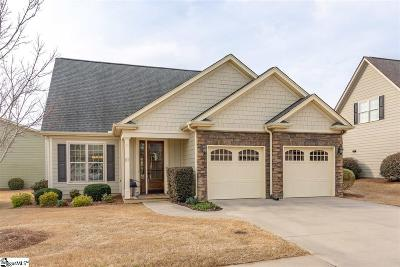 Simpsonville Single Family Home Contingency Contract: 112 Belle Oaks