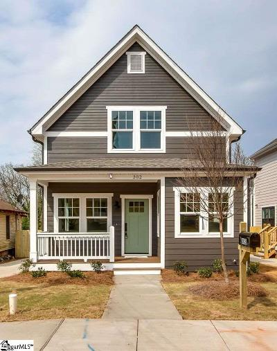 Greenville SC Single Family Home Contingency Contract: $284,900