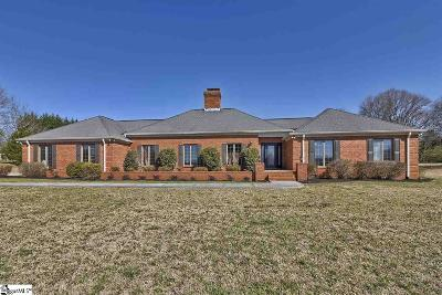 Simpsonville Single Family Home For Sale: 103 Gilder Creek