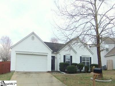Simpsonville Single Family Home For Sale: 8 Warbler