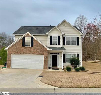 Easley Single Family Home For Sale: 140 Rounded Wing