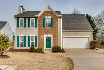 Greenville Single Family Home For Sale: 55 Brockmore