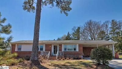 Greenville SC Single Family Home For Sale: $162,500