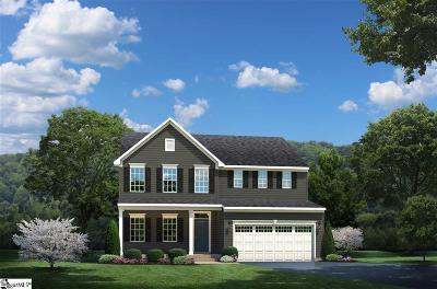 Greer Single Family Home For Sale: 207 Edwin Ellis