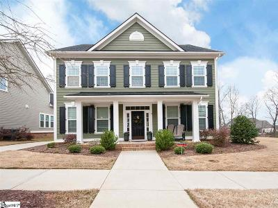 Greenville SC Single Family Home For Sale: $529,900