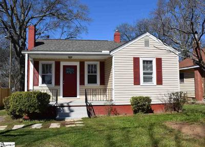 Greenville Single Family Home For Sale: 9 Henderson