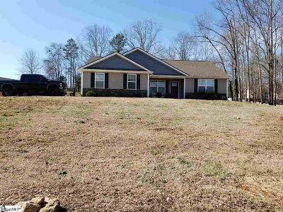 Simpsonville Single Family Home For Sale: 229 Redcoat
