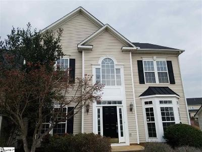 Greenville County Single Family Home For Sale: 10 Silverthorn