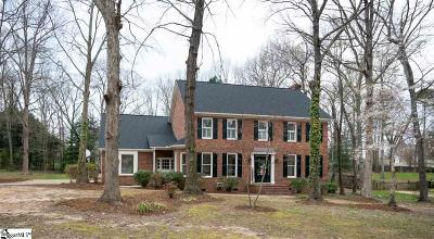 Simpsonville Single Family Home Contingency Contract: 108 Shadowood