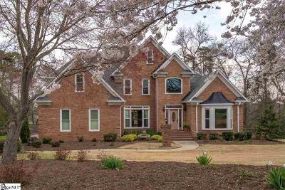 Greenville County Single Family Home For Sale: 224 Keeneland