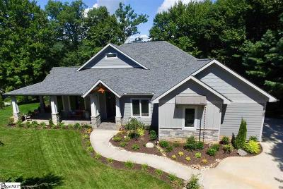 Greenville County Single Family Home For Sale: 38 The Cliffs