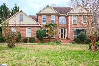 Greenville County Single Family Home For Sale: 101 Hudders Creek
