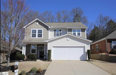 Simpsonville Single Family Home For Sale: 15 Border