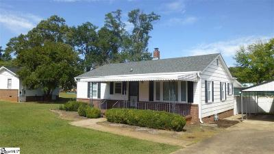 Greenville SC Single Family Home For Sale: $130,000