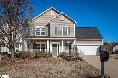 Greer Single Family Home For Sale: 506 Riello