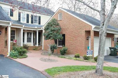 Greenville SC Condo/Townhouse For Sale: $264,900
