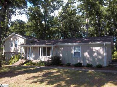 Easley Single Family Home For Sale: 124 Stonegate