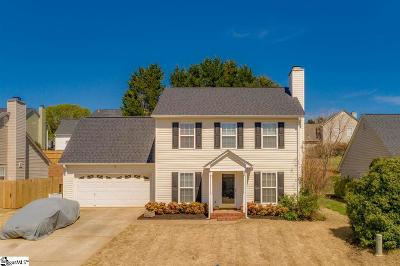 Greer Single Family Home For Sale: 212 Big Fox