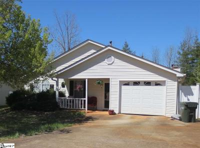 Greer Single Family Home For Sale: 117 Spruce