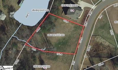 Travelers Rest Residential Lots & Land For Sale: 38 Setting Sun
