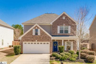 Simpsonville Single Family Home Contingency Contract: 237 Meadow Blossom