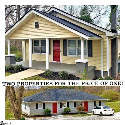 Single Family Home For Sale: 148 & 150 Hagood