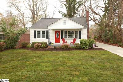 Greenville Single Family Home For Sale: 106 Dykeson