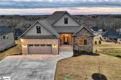 Anderson Single Family Home For Sale: 1037 Tuscany