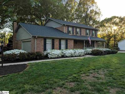 Simpsonville Single Family Home For Sale: 110 Pecan Hill