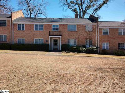 Greenville Condo/Townhouse For Sale: 100 Lewis #Unit 20-