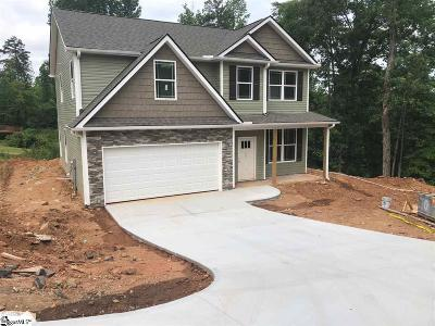 Easley Single Family Home For Sale: 401 Morning Creek #Lot 29