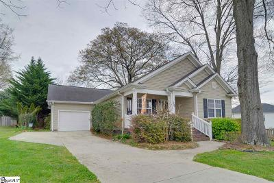 Greenville Single Family Home For Sale: 206 Neal