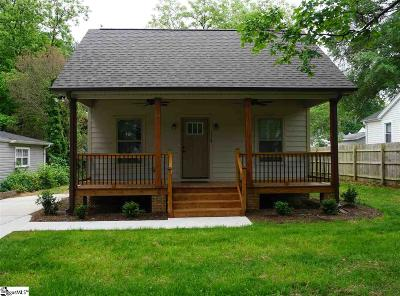 Greenville Single Family Home For Sale: 113 Cumberland