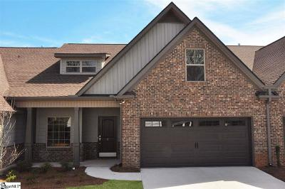 Simpsonville Condo/Townhouse For Sale: 5 Sweetspire #8B