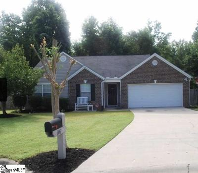 Mauldin Single Family Home Contingency Contract: 105 Merlot