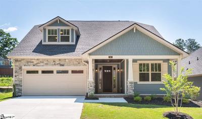 Simpsonville Single Family Home For Sale: 10 Cromarty