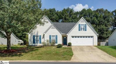 Simpsonville Single Family Home For Sale: 400 Bramford