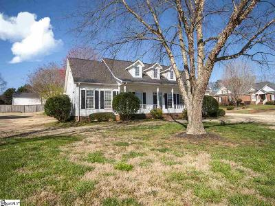Greenville Single Family Home For Sale: 101 W Field Sparrow