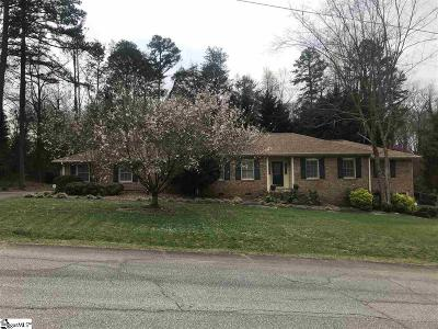 Easley Single Family Home For Sale: 201 Edgemont