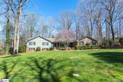 Spartanburg Single Family Home For Sale: 525 Maverick