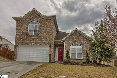 Easley Single Family Home For Sale: 105 Buck Hill