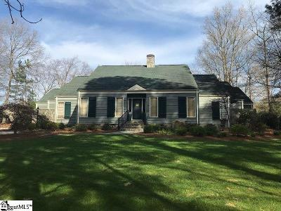 Greenville Single Family Home Contingency Contract: 18 Weatherby