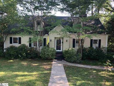 Greenville Single Family Home For Sale: 434 Longview