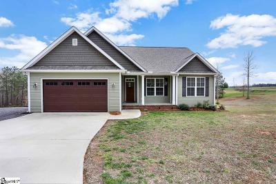 Easley Single Family Home Contingency Contract: 210 Old Dacusville