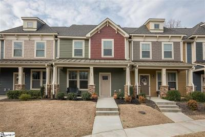 Simpsonville Condo/Townhouse For Sale: 10 Recess