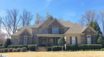 Simpsonville Single Family Home For Sale: 620 Brixton